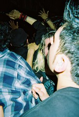 La Plebe Crowd 3/13/10 (rrrrobbie) Tags: show film berkeley punk ska moshpit disposablecamera eastbay 2007 924gilman moshing laplebe trupunx