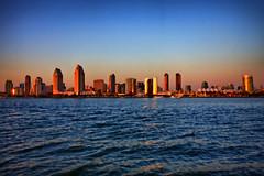 San Diego Skyline-2 (ASHCROFT54) Tags: california photoshop canon sandiego dusk sigma wideangle 1020mm hdr sandiegoskyline tinarice 40d dynamicphotohdr stayclassysandiego ashcroft54 topazadjust topazdenoise flickraward topazdetail