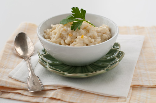 Preserved Lemon Risotto