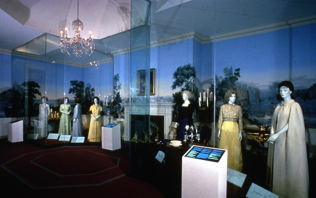 First Ladies Political Role and Public Image exhibit installation 1991 by national museum of american history