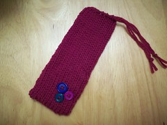 Knit Eyeglass Case