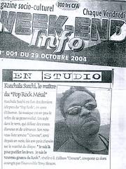 'Weekend Info', Côte d'Ivoire, 29.10.2004