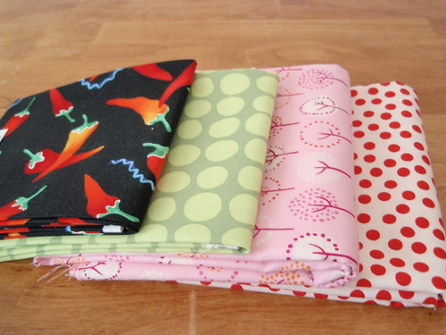 Some random fabric stash