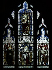 Stained glass by Kempe (1897) - Byfield