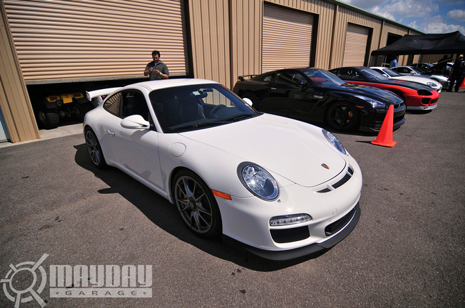 My personal favorite car there was this awesome GT3, a mans car!