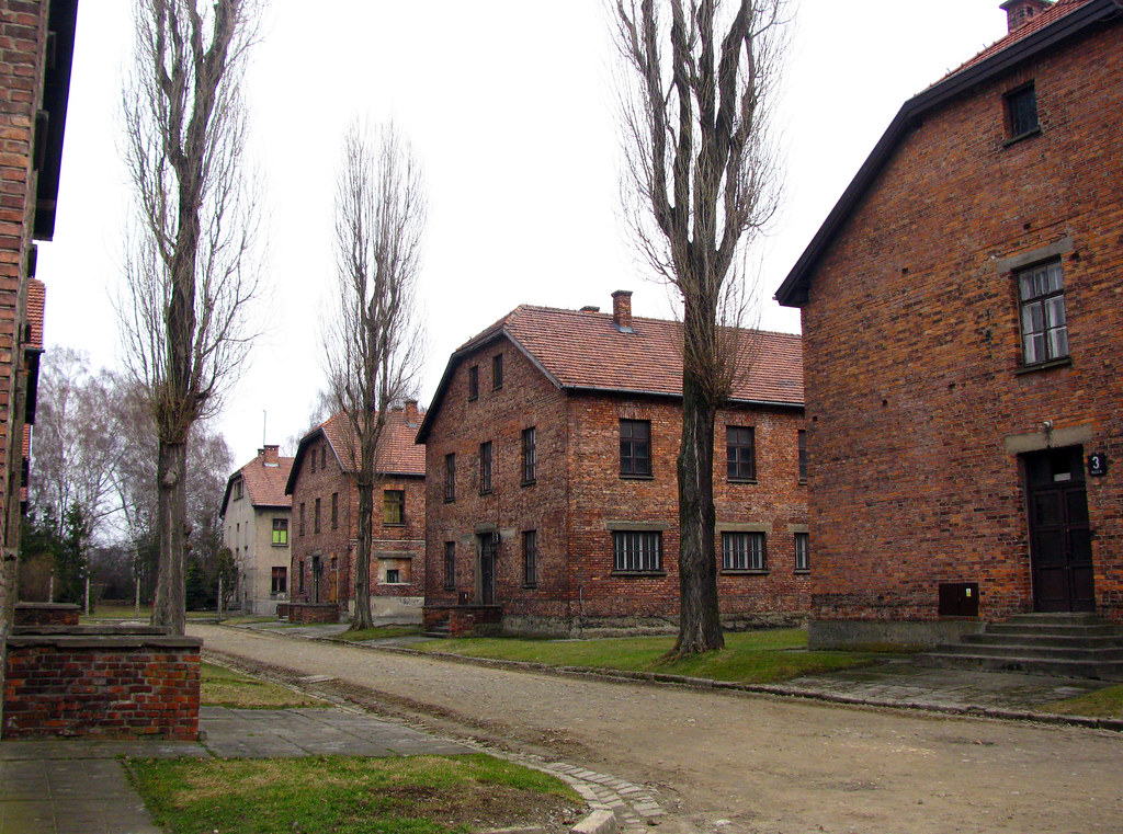 Auschwitz 1 Poland ~ today.  Includes extensive writeup