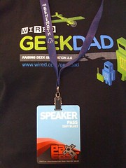 GeekDad Shirt and Pax East pass