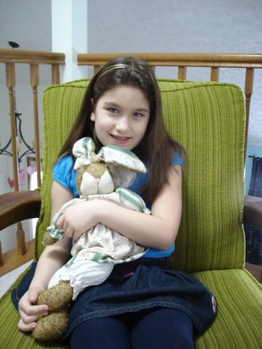 Corinne at 7 years