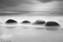 Bowling Ball Beach #2 (Della Huff Photography) Tags: california longexposure storm beach coast highwayone stormy highway1 mendocino bowlingballbeach schoonergulch nd110