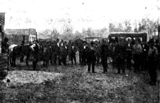 1872 Street Scene of Joplin, Missouri