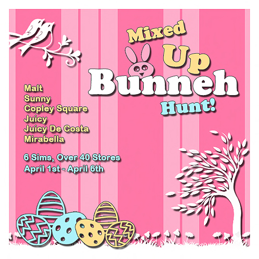 Mixed-Up Bunneh Hunt!