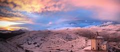 Nature as a painter (filippo rome) Tags: sunset italy colors italia abruzzo roccacalascio bellabruzzo