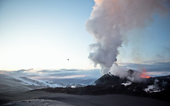 New Smoke (Oscar Bjarna) Tags: winter snow cold ice night fire lava iceland oscar smoke glacier vulcano mrdalsjkull fimmvruhls eyjafjallajkull bjarnason canon5dmkii analogsystm