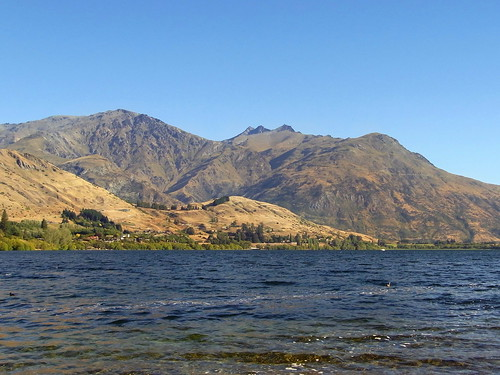 Remarkables across Lake Hayes