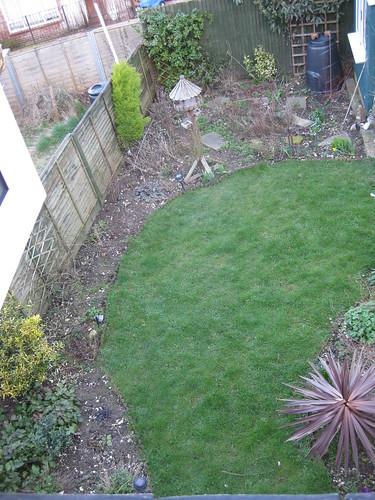 Upper lawn 01/04/2010