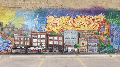 Parkdale Mural, Toronto