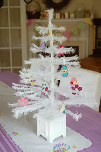 Easter Feather Tree.