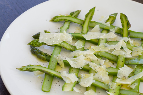 Weaved Asparagus Salad 10