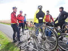 A puncture (but not our group!)