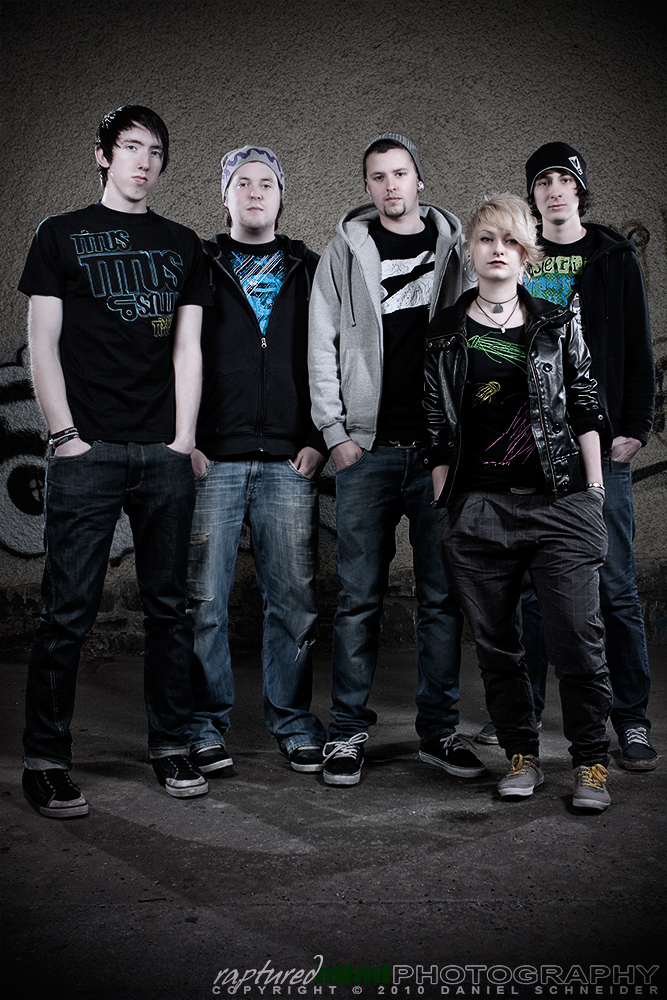 Kept in Forlorn - Promoshooting - Band - Strobist - Wuppertal