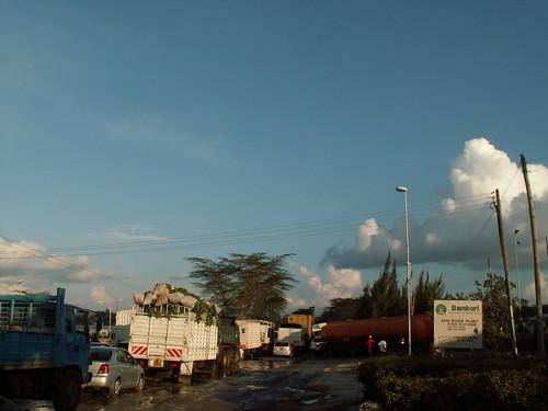 The way from Nairobi to Tanzania