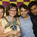 Brent Corrigan, Hannah Raybould, Aleem Khan and Neeraj Singh