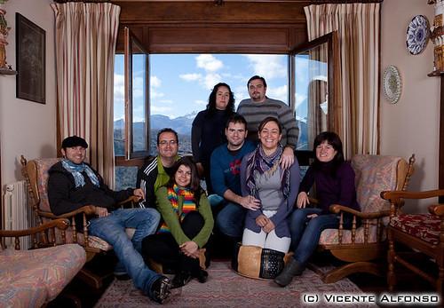 Vacaciones en Cantabria con los amigos en el 2010