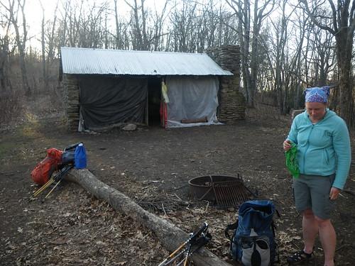 Misti @ GSMNP Shelter
