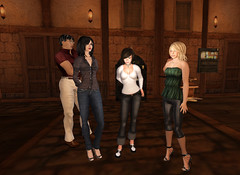 Listening to Grace at Callahan's Crosstime Saloon (FelineHerdsCats) Tags: secondlife nevi insideoutcafe zhaewry callahanscrosstimesaloon felineslade chrisnorse chestnutrau