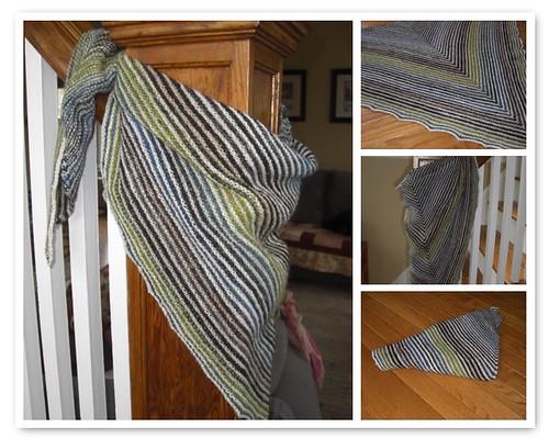 Silk Kerchief Mosiac
