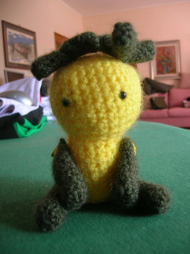 Monster amigurumi