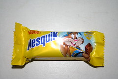 Nestle Nesquick candy bar (Like_the_Grand_Canyon) Tags: bar candy sweet chocolate armenia schokolade schoko riegel armenien