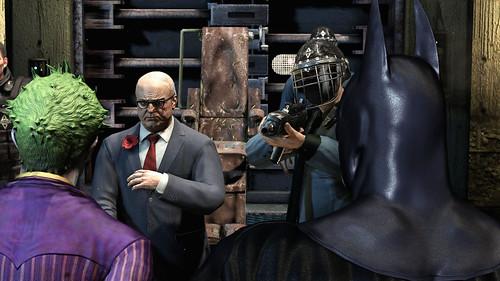 Batman Arkham Asylum intro