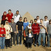 At the Giza Pyramids (Group shot at Giza.jpg)