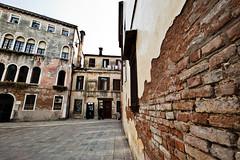 Venetian Wall (Jared Ropelato) Tags: world travel venice vacation italy expedition water canon europe outdoor exotic destination 2010 jaredropelato ropelatophotography