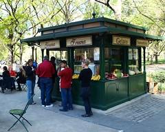 Ferrara Food Stand, Central Park, New York City (jag9889) Tags: street city nyc people food ny newyork booth stand cafe italian centralpark manhattan victorian style scene kiosk hotdogs ferrara 2010 y2010 jag9889