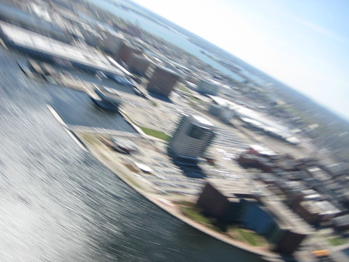 NuVu Boston harbor flight