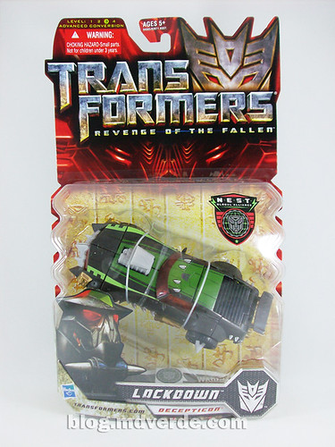 Transformers Lockdown Deluxe RotF NEST - caja