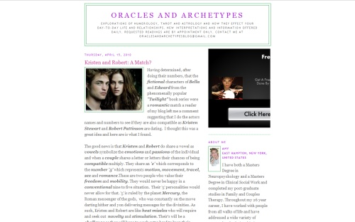 Oracles and Archetypes