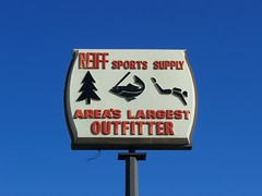 OH Lima - Reiff Sports Supply (scottamus) Tags: old ohio sports sign vintage lima vacuum plastic supply reiff formed allencounty vacuform