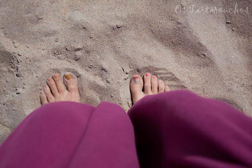 pes praia