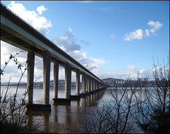Tay Road Bridge of Dundee (ticinoinfoto) Tags: uk fife dundee ponte granbretagna regnounito scozia tayroadbridge newportontay