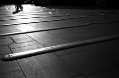 Convergence (richard314159) Tags: blackandwhite film canon kodak photograph 135 40mm coventry canonet ql17 giii xtol f17 adox ortho25 richard314159 bfm0410 20100415acanonetbfm0410bog