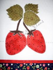 Detalhe pano de prato (Atelie Roslia Klaus) Tags: de pano patchwork avental prato cozinha aplique patchcolagem