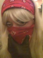 Feels good (RobberQueen) Tags: masked bandana robber