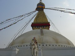 Stupa in Bodnath Photo
