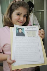 martin luther notebooking