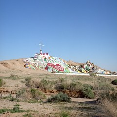 ZH05 (peterbaker) Tags: california art love bush paint cross desert god hill religion salvationmountain slabcity