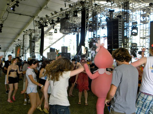 Foofa Getting Down in the Dance Tent