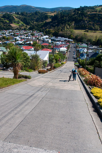 Dunedin - The World Steepest Street 04